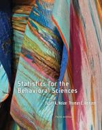 Statistics for the Behavioral Sciences - Susan Nolan