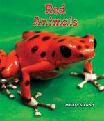 Red Animals - Melissa Stewart