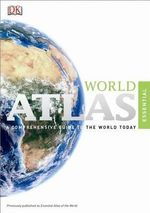 Essential World Atlas (Eighth Edition) : Folding Pocket Size Travel Map