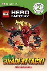 DK Readers : Lego Hero Factory: Brain Attack! - Dorling Kindersley