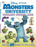 Ultimate Sticker Book : Monsters University - Disney