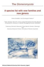 The Glomeromycota : A Species List with New Families and New Genera - Arthur Sch Ler