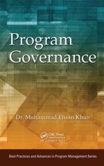 Program Governance - Muhammad Ehsan Khan