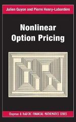 Nonlinear Option Pricing - Julien Guyon