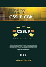 Official (ISC)2 Guide to the CSSLP CBK - Mano Paul