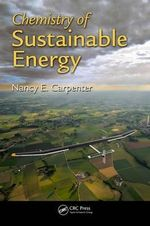 Chemistry of Sustainable Energy - Nancy E. Carpenter