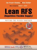 Lean RFS (Repetitive Flexible Supply) : Putting the Pieces Together - Ian Fraser Glenday
