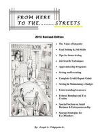 From Here To The Streets : 2012 Revised Edition - Joseph L. Chiappetta Jr.