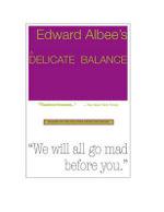 A Delicate Balance - Edward Albee