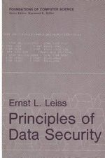 Principles of Data Security - Ernst L. Leiss