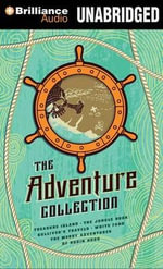 The Adventure Collection : Treasure Island/The Jungle Book/Gulliver's Travels/White Fang/The Merry Adventures of Robin Hood - Robert Louis Stevenson