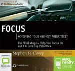 Focus : Achieving Your Highest Priorities (Mp3) - Steve Jones