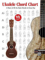 Ukulele Chord Chart : A Chart of All the Basic Chords in Every Key - Alfred Publishing