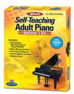 Alfred's Self-Teaching Adult Piano Beginner's Kit - Alfred Publishing