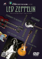 Ultimate Easy Guitar Play-Along -- Led Zeppelin : Easy Guitar Tab, DVD - Led Zeppelin
