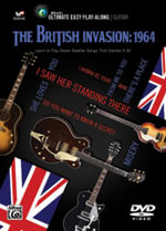 Ultimate Easy Guitar Play-Along -- The British Invasion 1964 : Easy Guitar Tab DVD, DVD - The Beatles