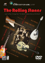 Ultimate Easy Guitar Play-Along -- The Rolling Stones : Easy Guitar Tab DVD, DVD - The Rolling Stones