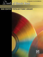 Dan Coates Popular Piano Library -- Duets of Classic Rock - Dan Coates