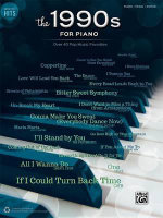 Greatest Hits -- The 1990s for Piano : Over 40 Pop Music Favorites - Alfred Publishing
