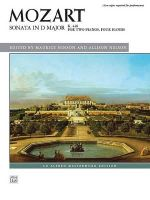 Sonata in D Major, K. 448 : Alfred Masterwork Edition