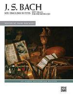 Bach : Six English Suites, Bwv 806--811