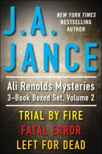 J.A. Jance's Ali Reynolds Mysteries 3-Book Boxed Set, Volume 2 - J.A. JANCE