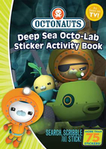Octonauts Deep Sea Octo-lab Sticker Activity Book - Simon & Schuster