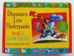 Dinosaurs Love Underpants Book and Jigsaw : 36 piece jigsaw puzzle - Claire Freedman