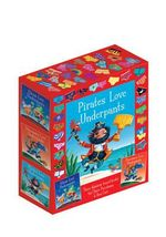 The Underpants Board Book slipcase : includes Aliens Love Underpants; Dinosaurs Love Underpants and Pirates Love Underpants - Claire Freedman