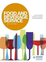 Food and Beverage Service - John Cousins