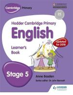 Hodder Cambridge Primary English : Student Book Stage 5