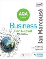 AQA Business for A Level (Marcouse) : AQA Business - Ian Marcouse