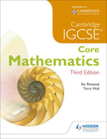 IGCSE Core Mathematics 3ed + CD - Terry Wall
