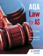 AQA Law for AS - Jacqueline Martin