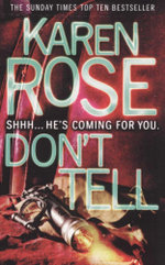 Dont Tell - Karen Rose