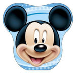 Disney Mickey Mouse Carry-Along Tin Head