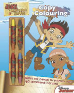 Disney Jake and the Never Land Pirates Copy Colouring