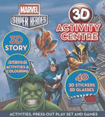 Marvel Super Heroes 3d Activity Centre