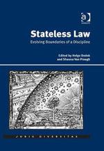 Stateless Law : Evolving Boundaries of a Discipline