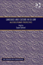 Language and Culture in EU Law : Multidisciplinary Perspectives