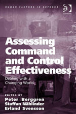 Assessing Command and Control Effectiveness : Dealing with a Changing World