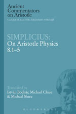 Simplicius : On Aristotle Physics 8.1-5 - Istvan Bodnar