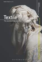 Textile Volume 11 Issue 2 - Bloomsbury