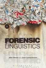 Forensic Linguistics - John Olsson