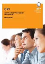 CPI Certificate of Proficiency in Insolvency : Revision Kit - BPP Learning Media