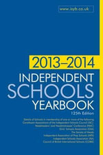 Independent Schools Yearbook 2013-2014 - Bloomsbury