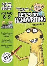 Let's do Handwriting 8-9 - Andrew Brodie