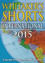 Whitaker's Shorts 2015 : International - Bloomsbury Publishing