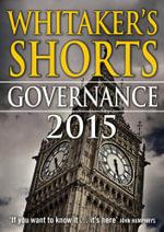 Whitaker's Shorts 2015 : Governance - Bloomsbury Publishing