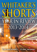 Whitaker's Shorts 2015 : The Year in Review - Bloomsbury Publishing